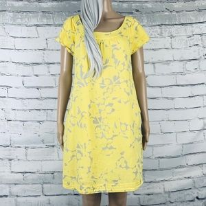J. Crew Factory Floral Shift Dress w/ Pockets